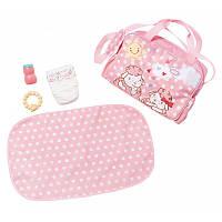 Сумка с набором  для пеленания для куклы Baby Annabell Беби Анабель Zapf Creation 700730