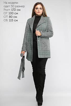 Женское Пальто Бриджит Зеленое