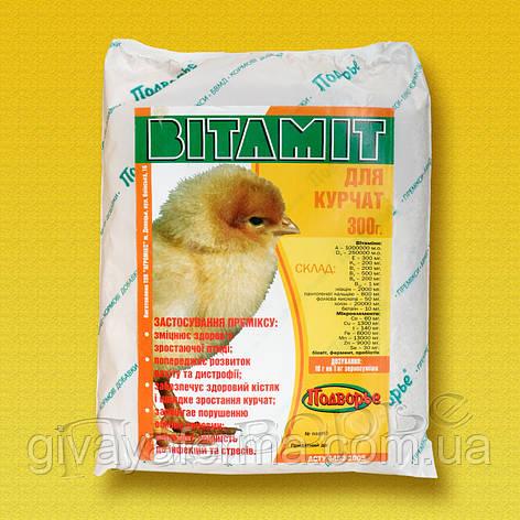 Премикс Витамит - цыпленок 1%, 25 кг, витаминно-минеральная кормовая добавка, фото 2