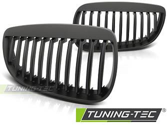 Решетка радиатора BMW E92 ноздри дорестайл (черный мат)