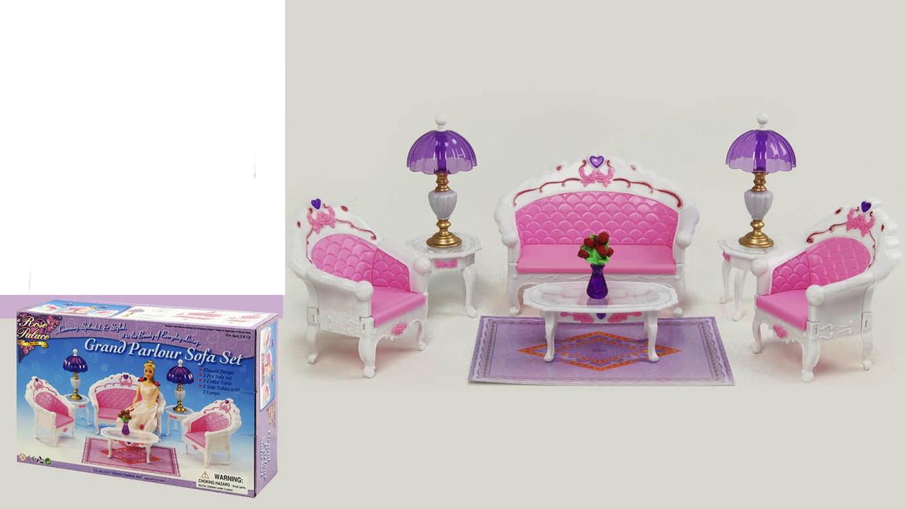 """Мебель """"Gloria"""" для гостиной, диван, 2 кресла, столик"""