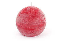 Свеча в форме шара 8см, цвет - бордо BonaDi B008_1-3.2