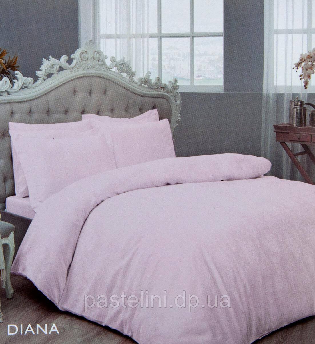 TAC жаккардовый комплект постельного белья  Diana lilac