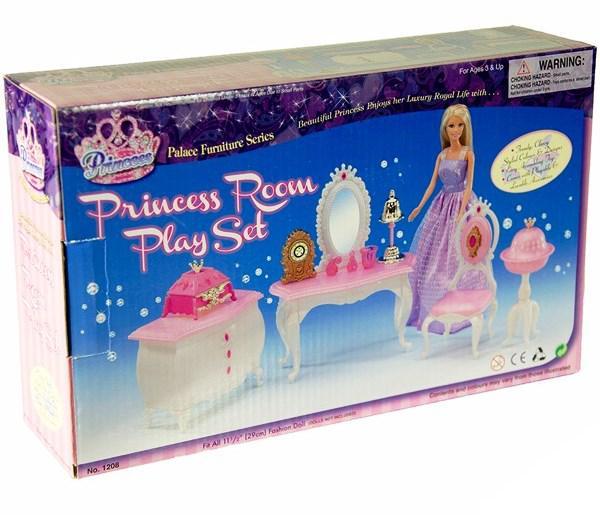 Детская мебель для кукол Gloria 1208 Комната принцессы