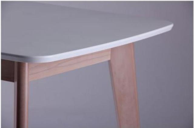 Стол Модерн CO-293 шпон 1200х750 Белый/Бук беленый (фото 6)