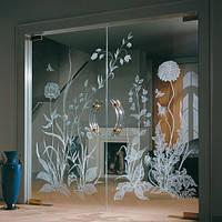 Стеклянные двери для дома — стильное решение