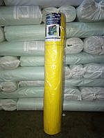 Сетка фасадная желтая 50 метров 160г/м2