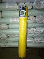Сетка фасадная желтая 50 метров 160г/м2 ЭЛИТ
