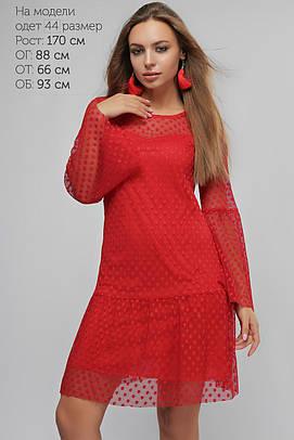 Платье Ванесса Красное