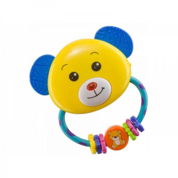 Погремушка пластиковая Медвеженок ТМ Baby Mix