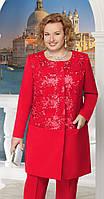 Жакет Ninele-5613 белорусский трикотаж, красный, 54