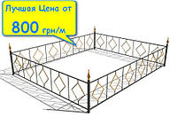 Газонное ограждение для клумб ТИП-3 | Цена садового ограждения для газона от изготовителя