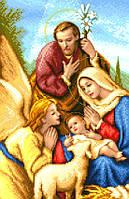 """Схема для вышивки крестом на канве Аида №16 """"Рождество Христово"""""""