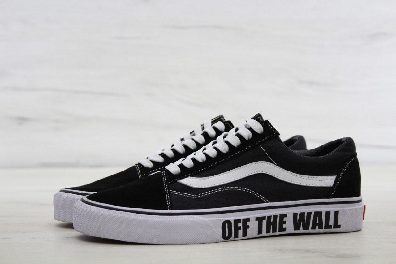 ea7593c88e3b Кеды Vans Old School Black White Off The Wall - Интернет магазин обуви «im-