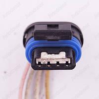 Разъем электрический 4-х контактный (18-6) б/у, фото 1