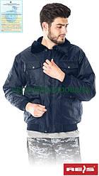 Куртка з водовідштовхувальним просоченням зимова захисна робоча Reis Польща (утеплений спецодяг) BOMBER G