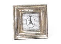 Рамка для фото деревянная серебро антик BonaDi 497-115