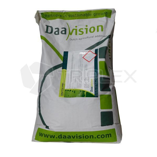 Даатокс Про, сорбент токсинов, кормовая добавка, порошок, 25 кг