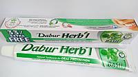 Зубная паста натуральная аюрведическая Базилик, Dabur Herb'l Basil 100 g