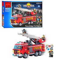 Конструктор Brick Enlighten Fire Rescue Пожарная машина, 364 дет., 904, 002747, фото 1