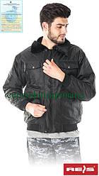 Куртка з водовідштовхувальним просоченням утеплена робоча Reis Польща (одяг зимова захисна робоча) BOMBER B