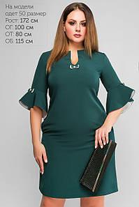Платье Алин Зеленый