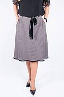 Женская юбка А-силуэта серого цвета, фото 1