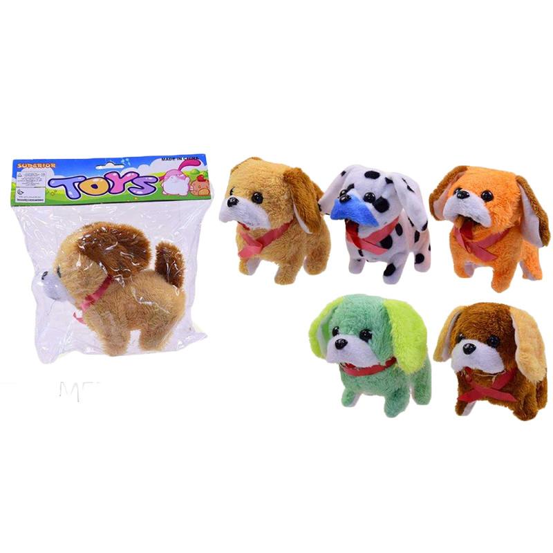 Интерактивная игрушка Собачка  HPC14A/17A  ,5 видов