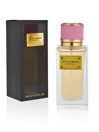 Женская парфюмерная вода Dolce & Gabbana Velvet Love 100 ml реплика, фото 2