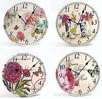 Часы настенные Французский шарм 29см, 4 вида BonaDi 487-189