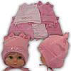 Детская трикотажная шапка для девочки, р. 42-44