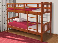 Двухъярусная кровать Бай-бай Микс-мебель 1700х800х2000 мм, деревянная разборная