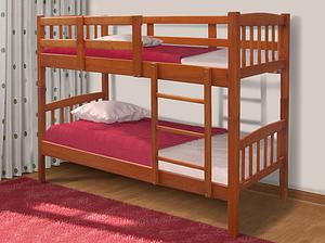 Двухъярусная кровать Бай-бай Микс-мебель 800х2000х1700 мм деревянная разборная в детскую