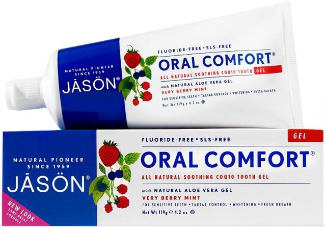 Зубний гель-паста для чутливої емалі «Oral Comfort» *Jason (США)*