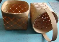 Плетённые формы из дерева (шпона)корзина120*120*140