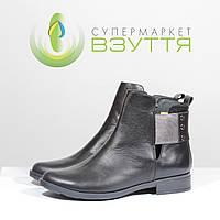 Демисезонные кожаные ботинки на низком ходу Marko 593 39