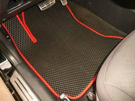 Коврики на Audi A4 (B6) '00-05. Автоковрики EVA