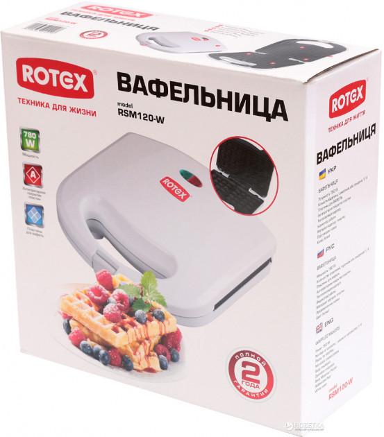 Вафельница Rotex RSM120-W 2