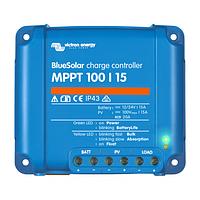 Контроллер заряда Victron Energy BlueSolar MPPT 100/15 (15A, 12/24 B), фото 1
