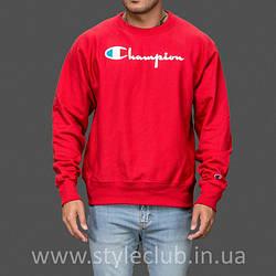 Champion свитшот красный • мужской • Бирки и Живые фотки