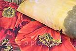 Двуспальный набор постельного белья. Цвет ― На фото Размер : ― Пододеяльник ( 175 см х 215 см ) ― Простынь ( 1, фото 3
