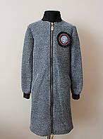 Пальто или удлиненный кардиган для девочек детский, фото 1