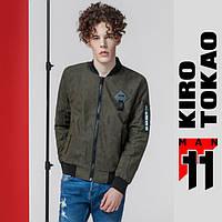 11 Kiro Tokao Бомбер весенне-осенний мужской 808 хаки