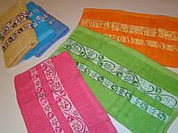 Лицевое полотенце махровое (45х90 см) код 0043, фото 1