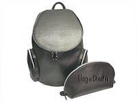 Рюкзак женский Bag-of-Dream BD757-71 (темное серебро/перламутр)