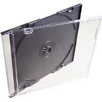 Бокс для диска CD/ DVD Slim box/ (7мм, чорний)