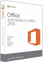 Microsoft Office Home and Student 2016 Russian Medialess P2 (79G-04756) BOX