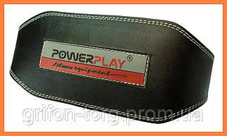 Пояс атлетический кожаный PowerPlay 5053