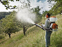 Обработка деревьев средствами защиты (без стоимости материала)