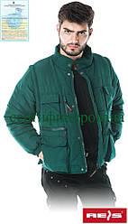 Зимова куртка з отстегиваемыми рукавами робоча Reis Польща (утеплений робочий одяг) CZAPLA Z